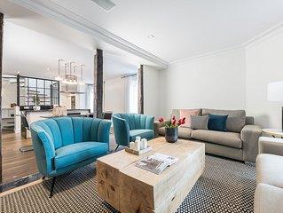 Moderno apartamento para 5 en la zona mas prestigiosa de Madrid