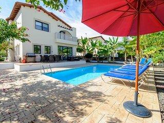 Protaras Holiday Villa AV4 -  a villa that sleeps 9 guests  in 4 bedrooms