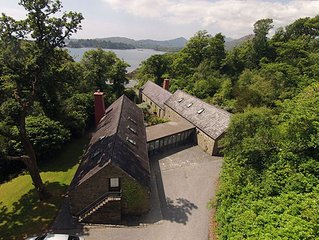 Linden House Glengarriff, 10 Bedrooms Sleeps 20,  Luxury Self Catering Rental