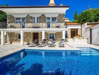 Lovingly restored stone villa 100 m from the sea