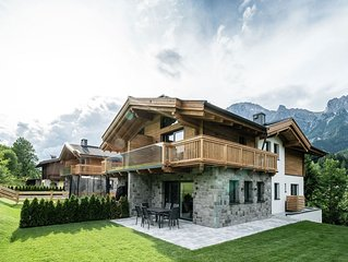 Luxurious Holiday Home with Sauna in Leogang
