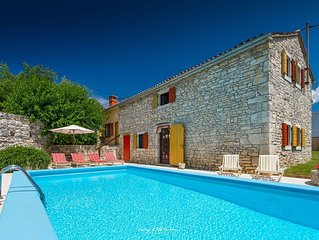Gracious stone villa within a picturesque village