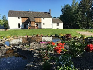 Spacious Holiday Home La Roche-en-Ardenne with Pool