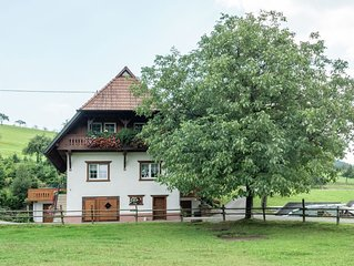 Quaint Farmhouse in Oberharmersbach with Barbecue