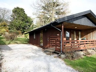 Four star Lodge with two bedrooms, fabulous views yet close to pubs and beach