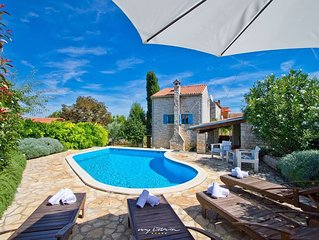 Beautiful old stone villa with private pool
