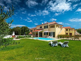 Beautiful new villa with private pool near Pula