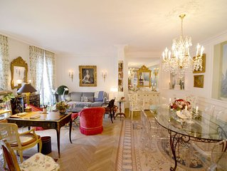 Elegant 3 Bedroom Apt Near Eiffel Tower - Alma