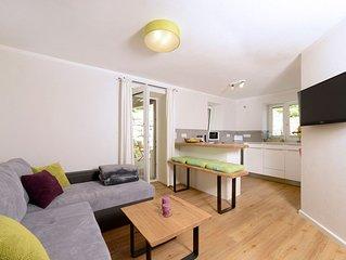 Ferienwohnung 'Leben' fur 2-3 Personen im EG, 30 qm, Wohnkuche und Schlafzimmer