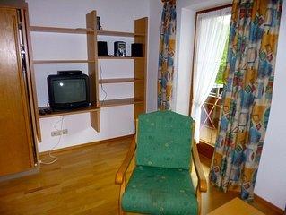 Ferienwohnung im Erdgeschoss, 48 qm, extra Schlafzimmer mit Balkon°