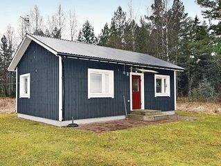 1 Zimmer Unterkunft in Fagersanna