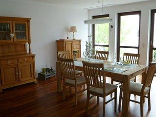 Ferienwohnung mit 2 Balkonen, 116qm, 1 Schlafzimmer für max. 2 Personen