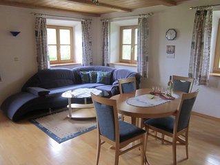Ferienwohnung 'Alpenblick', 56 qm, 2 Schlafzimmer