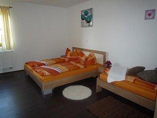 Ferienwohnung, 90 qm Erdgeschoss, 2 separate Schlafzimmer