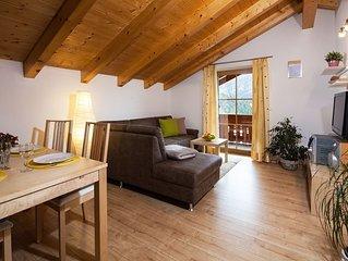 Ferienwohnung 2 bis 4 Personen, 63 qm, 2 Schlafzimmer, Balkon, Nichtraucher