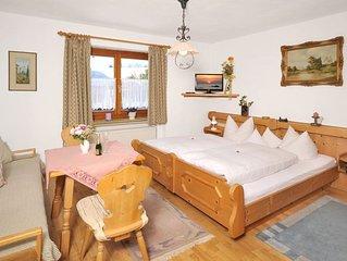 (1) Ein-Raum-Ferienwohnung 22qm, Dusche/WC, Kochnische, Balkon