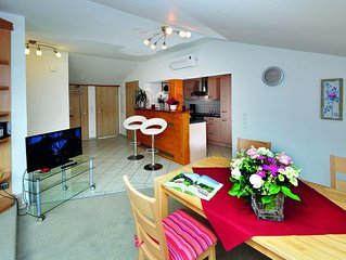 Ferienwohnung Alpenblick, 1-4 Personen, 65qm, 2 separate Schlafzimmer, Balkon