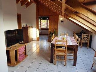 4 Ferienwohnung 'Säntis', 100 qm, 3 Schlafzimmer, max. 9 Personen