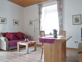 Wohnung LISTSEE: Zwei-Zimmer-Wohnung für 1- 3 Personen mit glasüberdachtem Balko