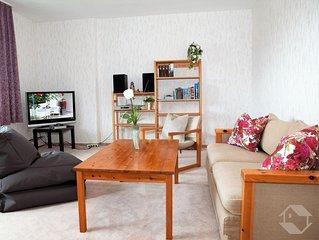 Ferienwohnung, 60qm, Terrasse, 1 Schlafzimmer, max. 4 Personen