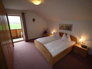 Ferienwohnung mit Bergblick für 2-4 Personen mit 2 Schlafzimmern