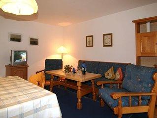 Ferienwohnung 1 bis 4 Personen, 65 qm, 1 separates Schlafzimmer, Terrasse