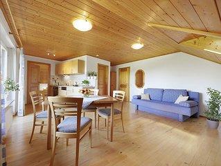 Ferienwohnung, 50 qm, Balkon, 1 Schlafzimmer, max. 2 Erwachsene und 2 Kinder