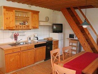 Ferienwohnung Sonnenblume, 50 qm Obergeschoss, 2 separate Schlafzimmer