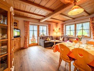 -2- Ferienwohnung (43qm), Balkon, Kochnische, 1 Schlaf- und 1 Wohn-/Schlafzimmer