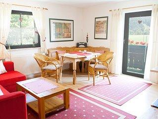 (6) 2- Raum  Ferienwohnung, 40 m2, Kuchenzeile und Sud -Balkon