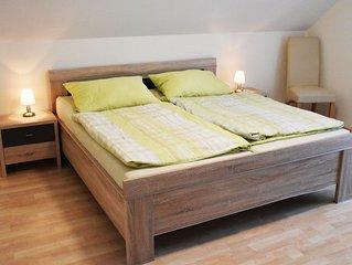 Ferienwohnung, 90qm, 2 Schlafzimmer, max. 5 Personen