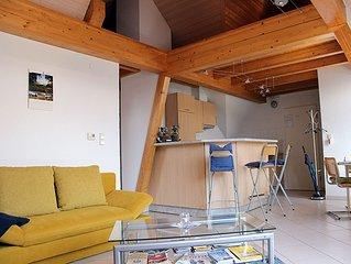 Ferienwohnung Obergeschoss, 70qm, 1 Schlafzimmer, max. 4 Personen