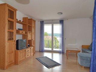 Ferienwohnung 1. OG, 80qm, 1 Schlafzimmer, 1 Wohn-/Schlafzimmer, max. 5 Personen