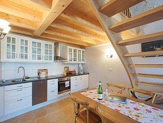 Terrasse, 50 qm mit 1 Schlafzimmer fur max. 2 Personen