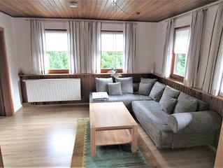 Ferienwohnung Brumichelhof, 90 qm mit Terrasse und 3 Schlafzimmern für max. 5 Pe