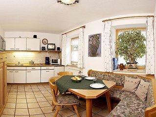 1) Drei-Raum-Ferienwohnung 52qm, bis zu 5 Pers., 2 Extra-Schlafzimmer, Kuche, Ba
