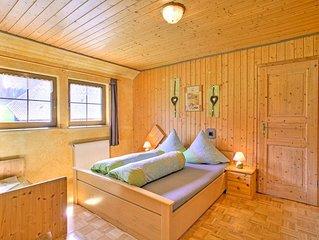 Ferienwohnung 'Kuhglocke', 70qm, 2 Schlafzimmer, max. 5 Personen