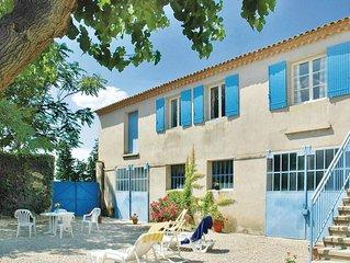 4 Zimmer Unterkunft in Ste Cecile les Vignes