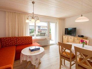 Ferienwohnung Unternberg (43qm), 1 Schlaf- und 1 Wohnzimmer, Kuche extra, Balkon