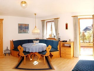 Ein-Raum-Ferienwohnung Kaiser 32qm, DU/WC, Kochnische, Balkon