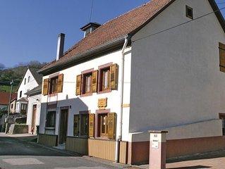 2 Zimmer Unterkunft in Natzwiller