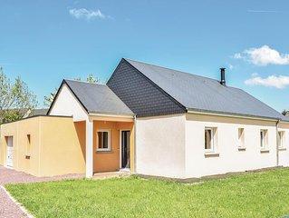 3 Zimmer Unterkunft in Quettreville-sur-Sien.