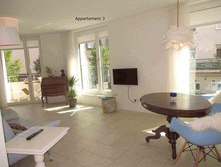 Apartment 3, 42qm, 1 Wohn-/Schlafzimmer, max. 2 Personen