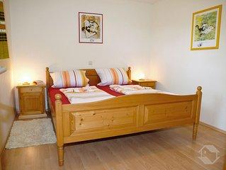 Ferienwohnung Dorfblick Typ B, 48qm, 1 Schlafzimmer, max. 3 Personen