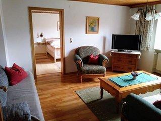 Ferienwohnung (74qm), Terrasse, Kuche extra, 2 Schlaf- und 1 Wohnzimmer, WLAN, m