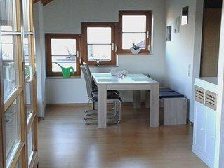 Ferienwohnung 80qm, Terrasse, 2 Schlafzimmer, max. 4 Personen