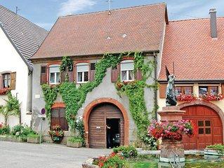 2 Zimmer Unterkunft in Pfaffenheim