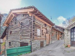 2 Zimmer Unterkunft in Brusson
