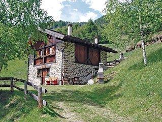 2 Zimmer Unterkunft in Peio Terme -TN-