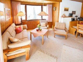 Ferienwohnung 2 OG (57qm), Balkon, Kochnische, 2 Schlaf- und 1 Wohnzimmer, max 4
